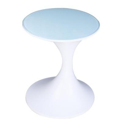 玻璃钢家具现代圆形创意茶几