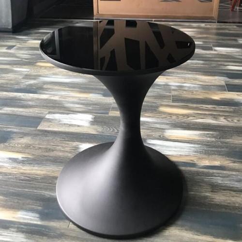 玻璃钢现代圆形创意茶几
