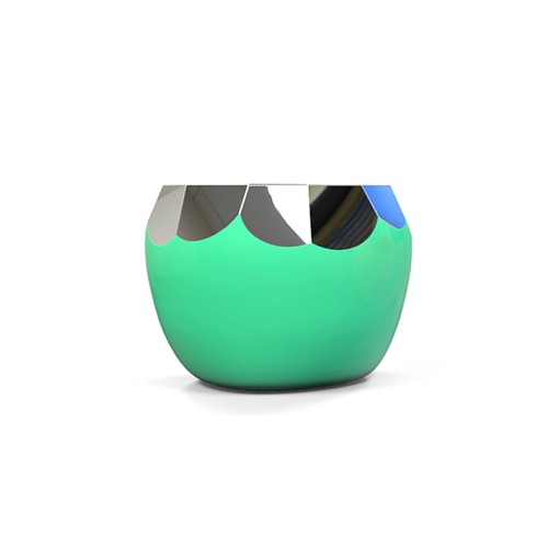 不锈钢苹果切面坐凳