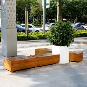 木质户外坐凳