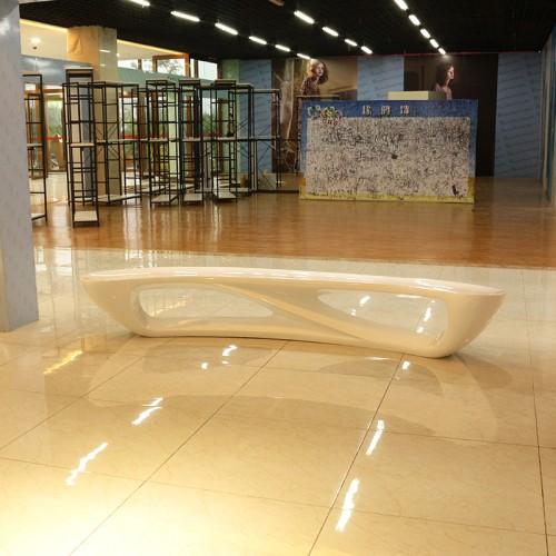 玻璃钢月亮凳