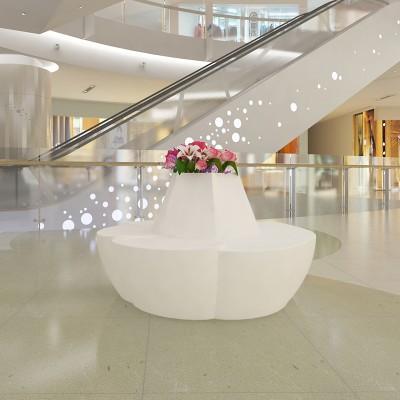 玻璃钢花型休闲椅