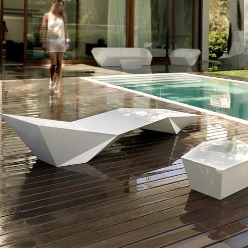 玻璃钢户外游泳躺椅