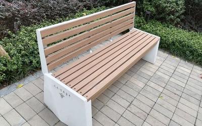 北辰悦来壹号景悦组团不锈钢坐凳案例