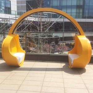 玻璃钢创意造型椅子