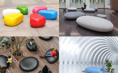 玻璃钢家具厂家,生产定制的那些玻璃钢坐凳!
