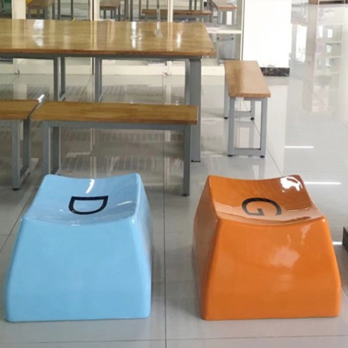 玻璃钢创意艺术键盘坐凳