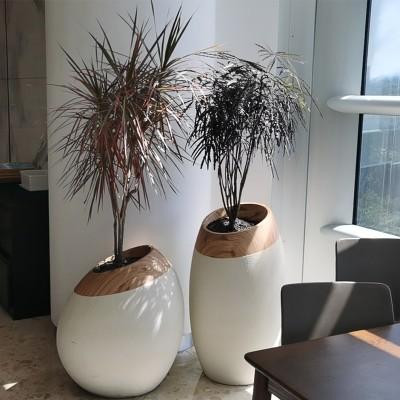 艺术玻璃钢花钵