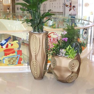 玻璃钢复古创意创意花盆