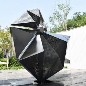 海螺造型不锈钢雕塑户外异形广场公园雕塑
