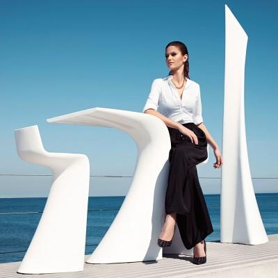 玻璃钢7型海滩座椅