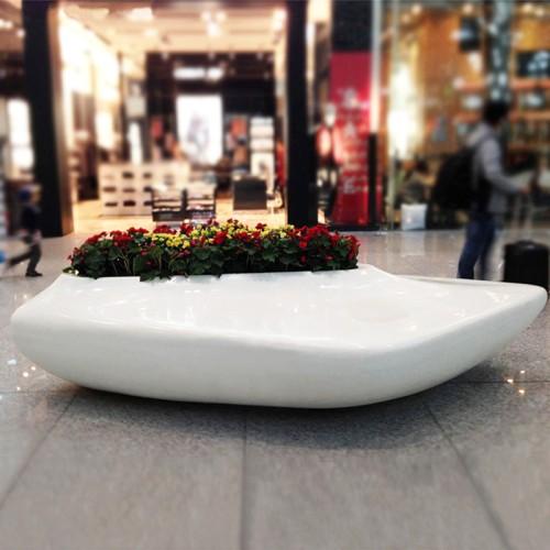 玻璃钢机场花盆