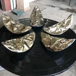 花瓣造型玻璃钢雕塑创意异形摆件