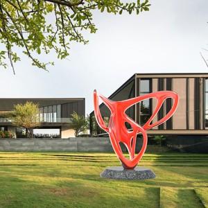 创意造型玻璃钢雕塑景观广场公园小区摆件