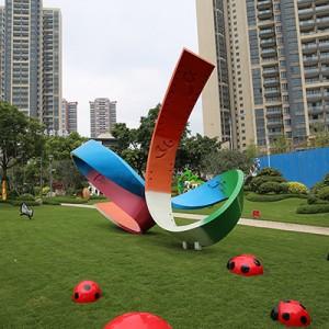 大型造型玻璃钢雕塑景观艺术广场摆件