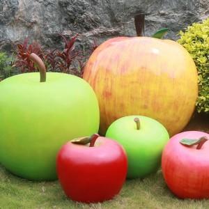水果玻璃钢雕塑艺术户外景观摆件