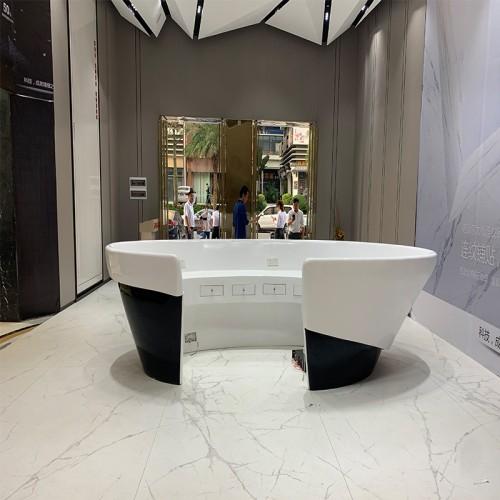 玻璃钢创意服务台前台吧台
