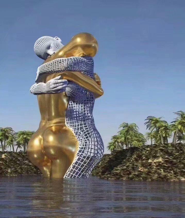 揭秘:不锈钢雕塑的价值竟然上升到了文化高度!