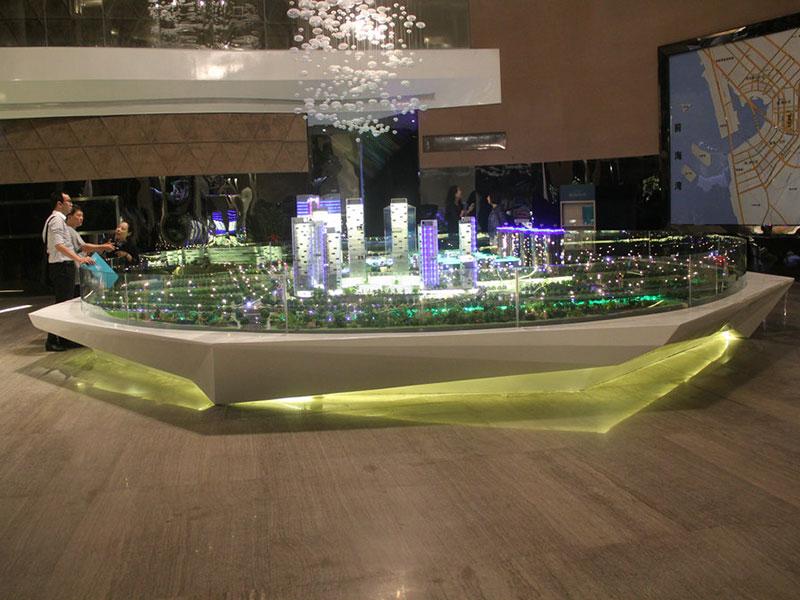 玻璃钢展台