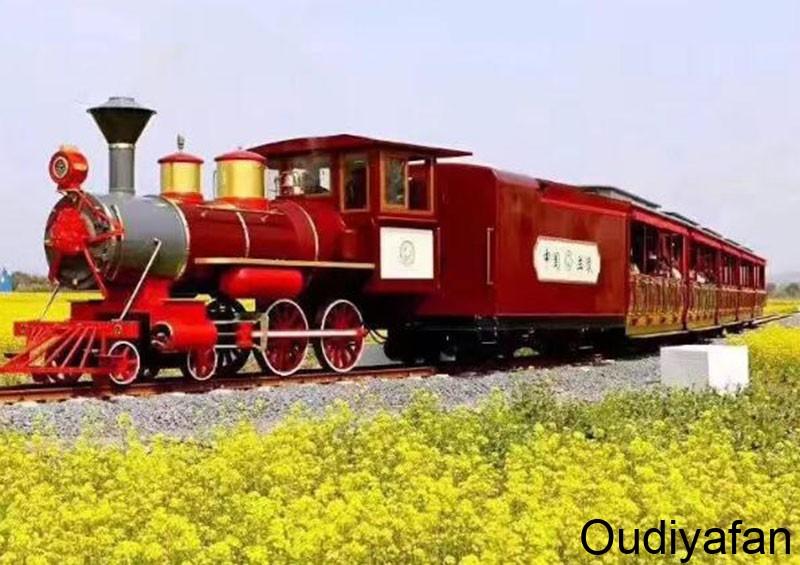 观光小火车外壳原来是玻璃钢外壳做的!