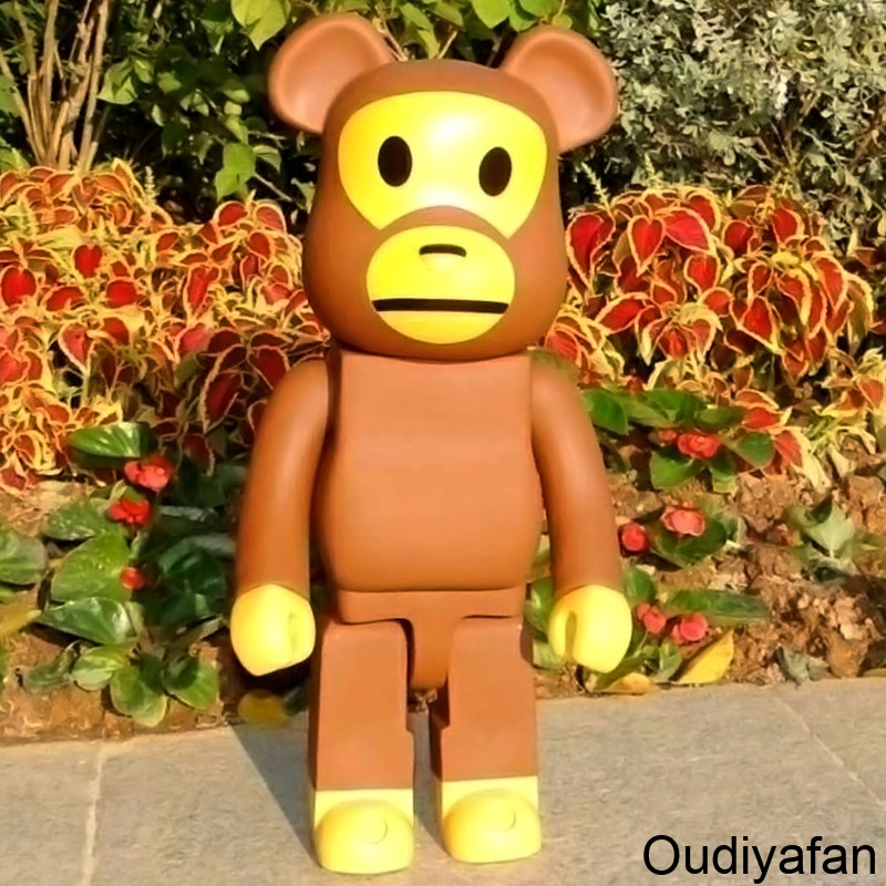 战斗能手-暴力熊玻璃钢雕塑来了!
