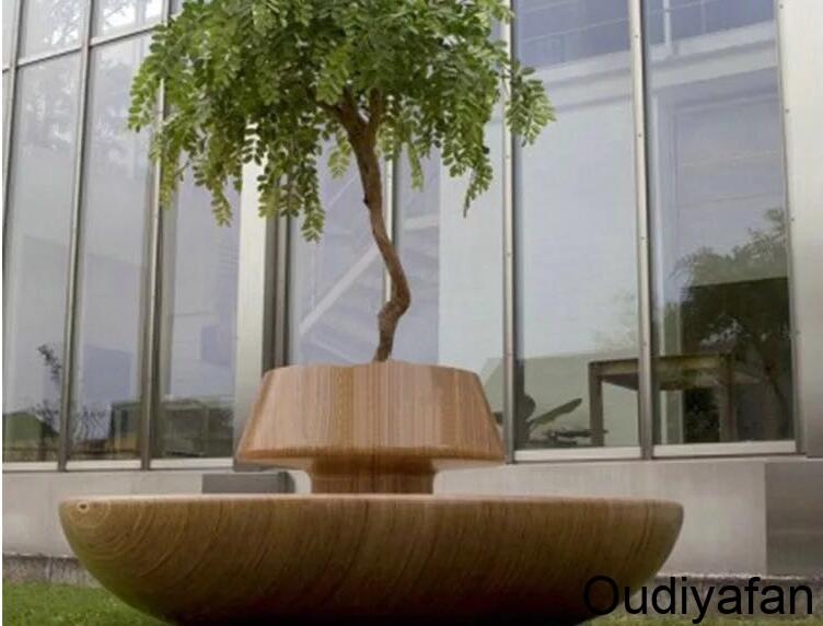 特别的玻璃钢花盆树池坐凳,你喜欢吗?