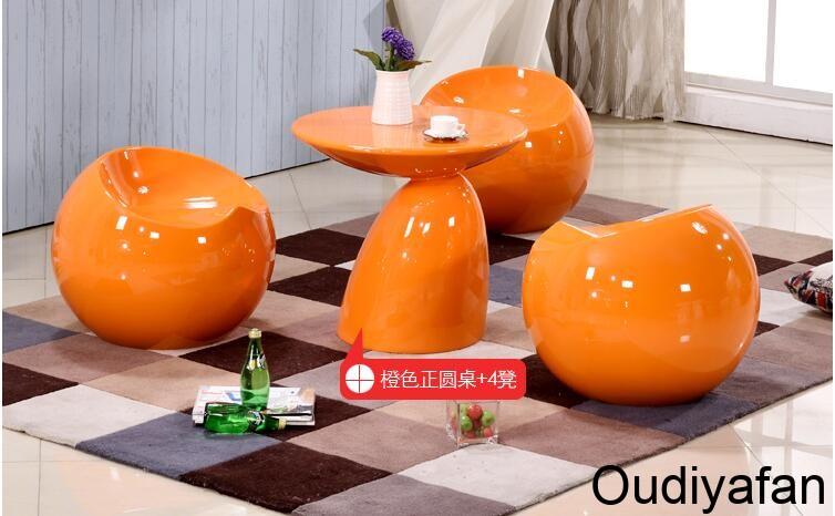 创意玻璃钢小球凳,独特异形小座椅!