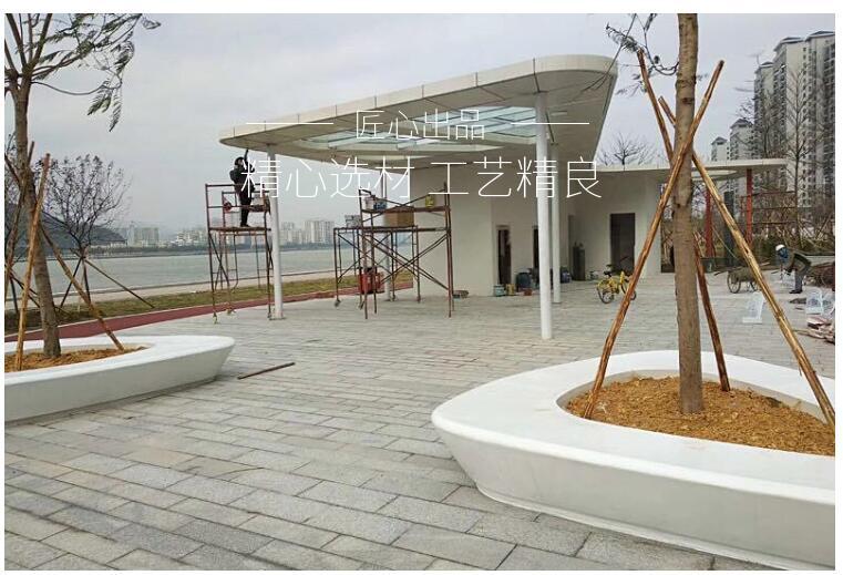 玻璃钢艺术花坛
