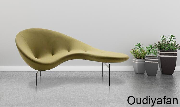 玻璃钢弧形豌豆沙发,舒适沙发!
