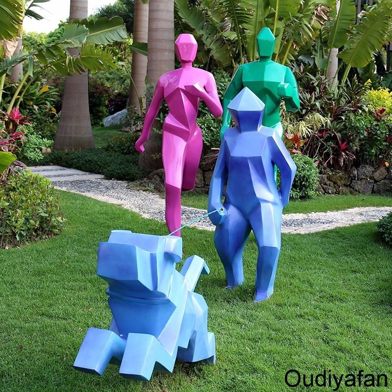 揭秘:玻璃钢人物雕塑制作流程!