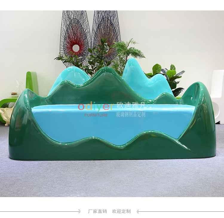 玻璃钢展会沙发