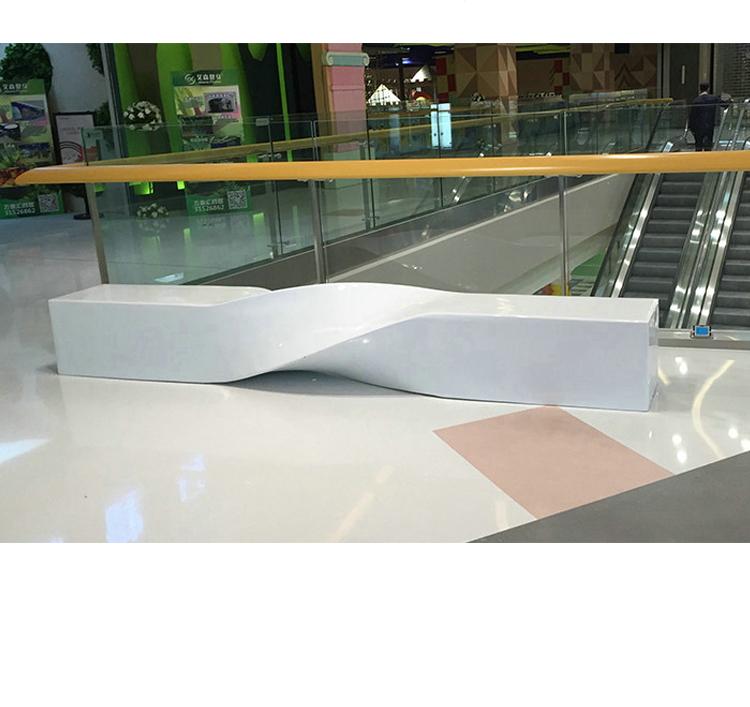 玻璃钢麻花坐凳