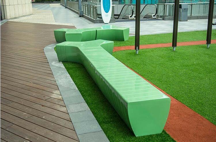 玻璃钢户外组合景观坐凳,大家都喜欢这款!