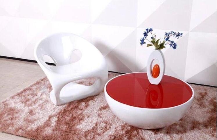 玻璃钢家具创意茶几
