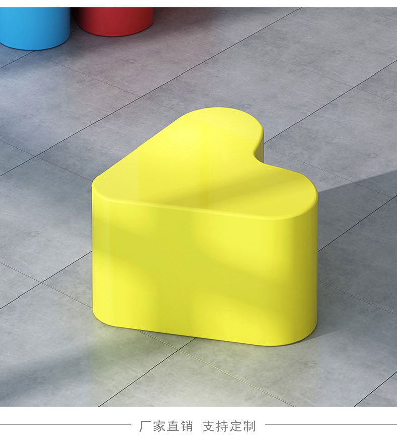 玻璃钢爱心座椅