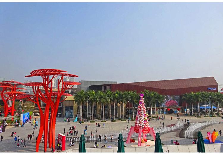 大型红树不锈钢雕塑广场公园摆件
