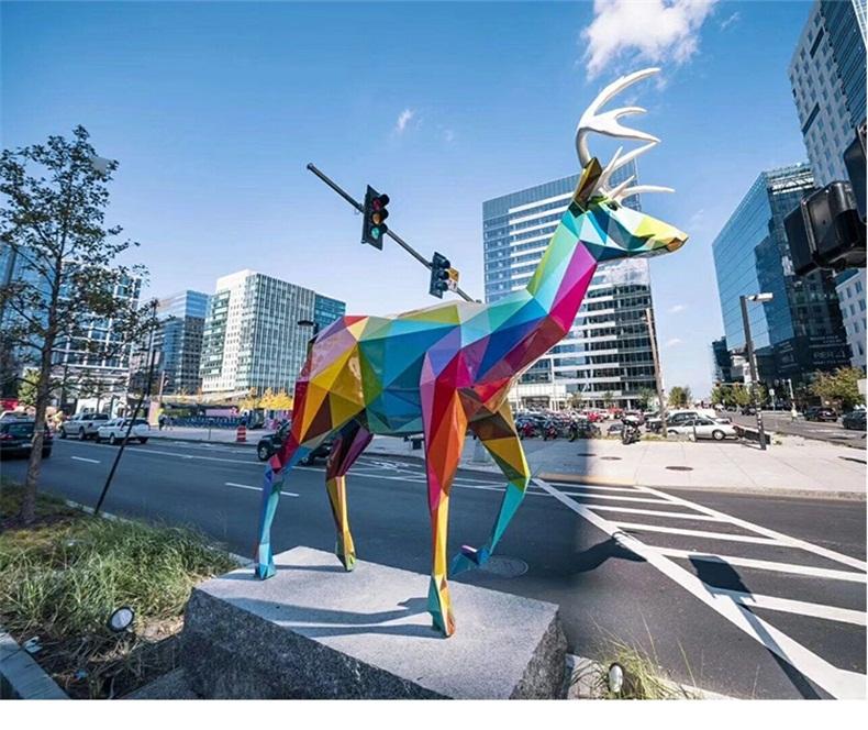 动物不锈钢雕塑定制