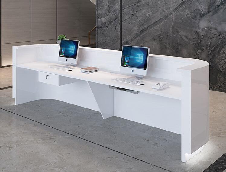 玻璃钢前台,玻璃钢吧台服务台定制价格是如何计算的?